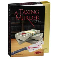 A Taxing Murder Mystery Jigsaw Puzzle