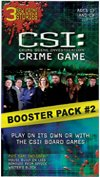 CSI Crime Game and Booster Pack #2