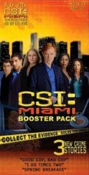 CSI: Miami Game and Booster Pack