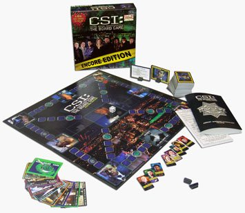 Csi crime scene investigation the board game encore edition new | ebay.