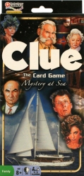 Clue Card Game - Mystery At Sea