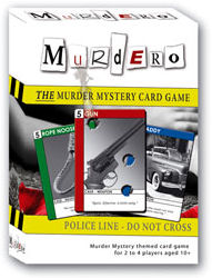 Murdero: The Murder Mystery Card Game