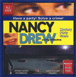 Nancy Drew Mystery Party Game