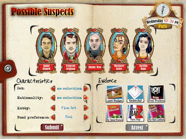 detective party games for adults