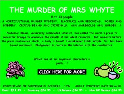 The Murder of Mrs Whyte