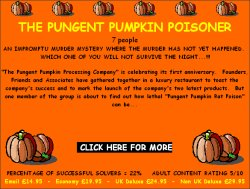The Pungent Pumpkin Poisoner