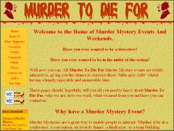 Murder To Die For