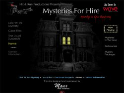 Mysteries For Hire
