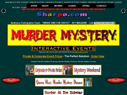 Sharpo's Murder Mystery Events