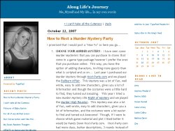 Along Life's Journey