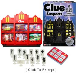 Clue Suspects (Click to Enlarge)