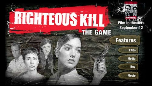 Righteous Kill: The Game