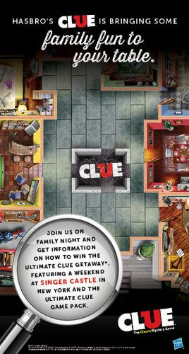 Clue Family Night